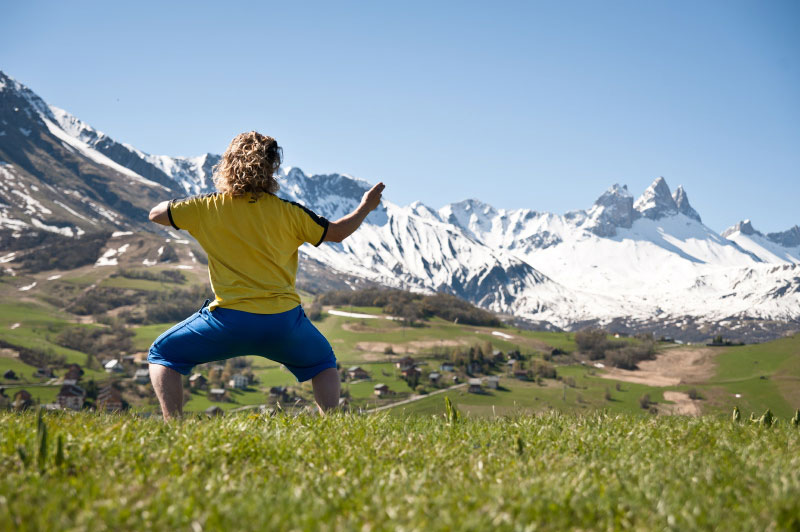 Stage Qi Gong